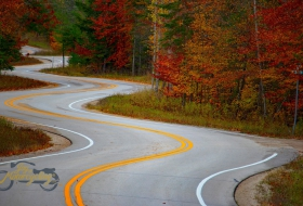 Hwy 42, Door County, WI, USA - Photo by Jacob Kiesow via Unspash